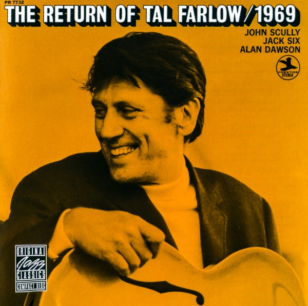 Tal Farlow The Return of Tal Farlow/1969 Cover Art