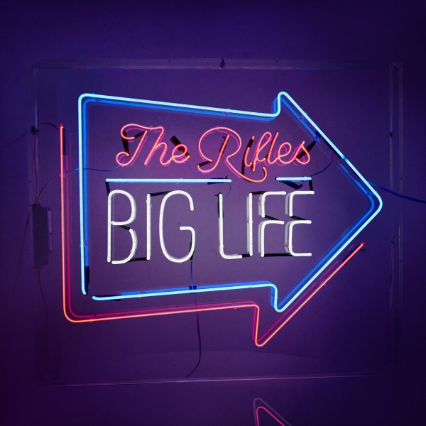 The Rifles Big Life Cover Art