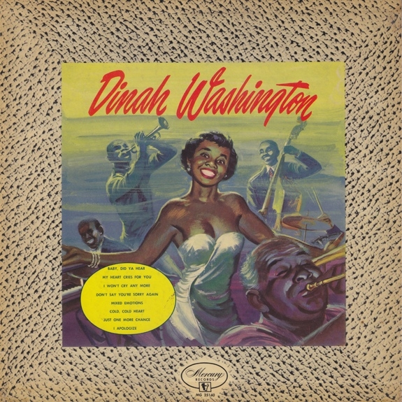Dinah Washington Blazing Ballads cover art