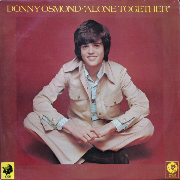 Donny Osmond Alone Together Cover Art