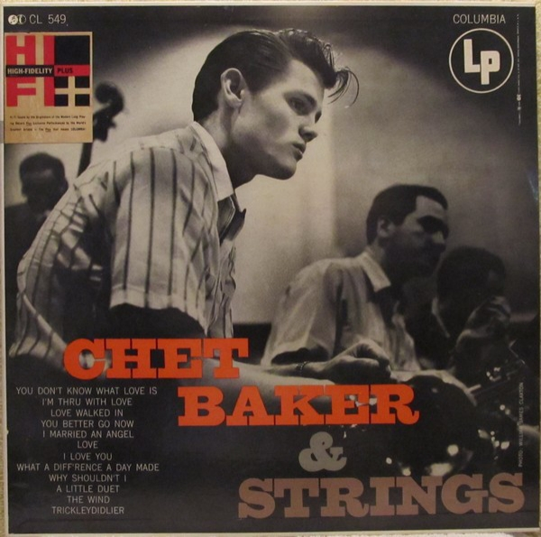 Chet Baker Chet Baker & Strings Cover Art