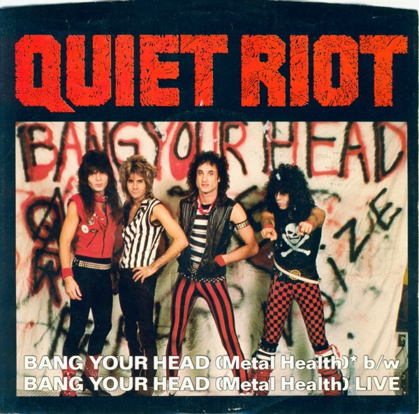 Quiet Riot Bang Your Head (Metal Health) Cover Art