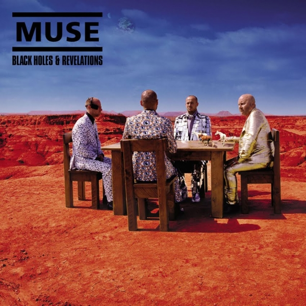 Muse Black Holes and Revelations cover art