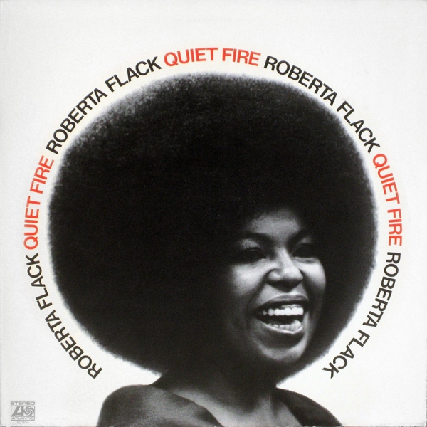 Roberta Flack Quiet Fire cover art