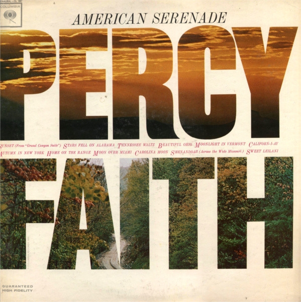 Percy Faith American Serenade cover art