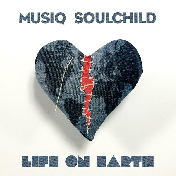 Musiq Soulchild Life on Earth cover art