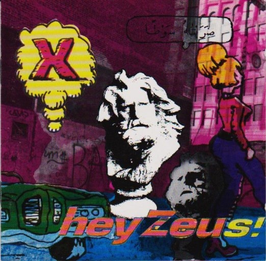 X Hey Zeus! cover art