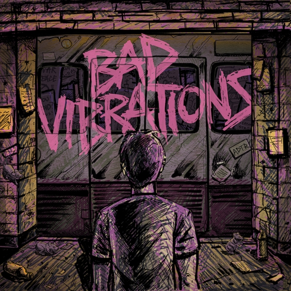 A Day to Remember Bad Vibrations cover art
