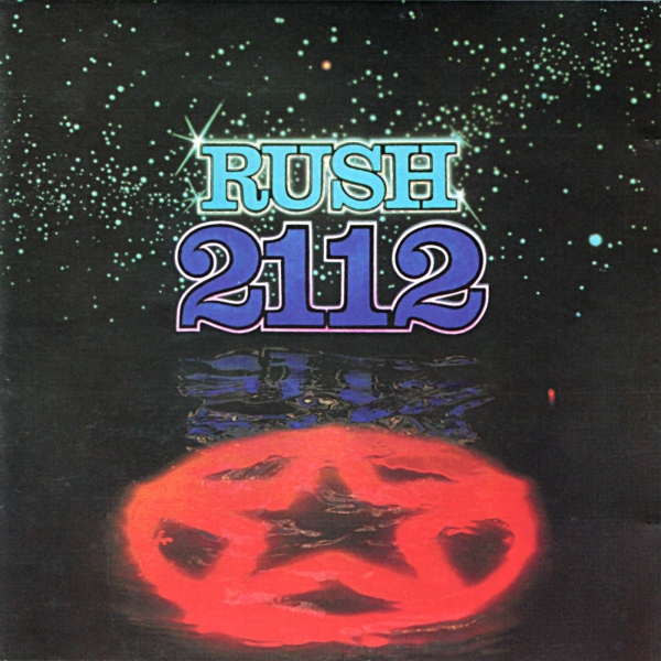 Rush 2112 Cover Art