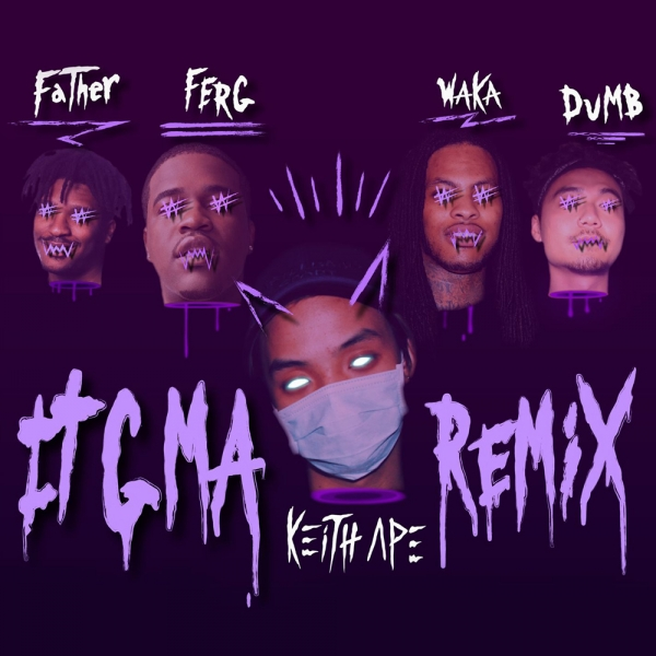 Keith Ape feat. A$AP Ferg, Father, Dumbfoundead & Waka Flocka Flame 잊지마 (remix) Cover Art