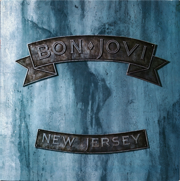 Bon Jovi New Jersey cover art