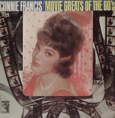 Connie Francis Movie Greats Of The 60's cover art