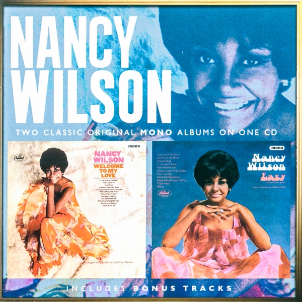 Nancy Wilson Welcome to My Love / Easy cover art