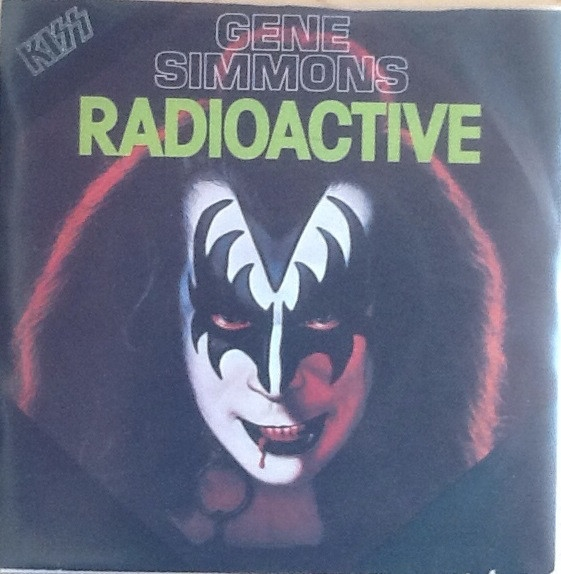 Gene Simmons Radioactive Cover Art