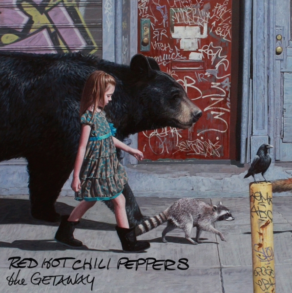 Red Hot Chili Peppers The Getaway cover art