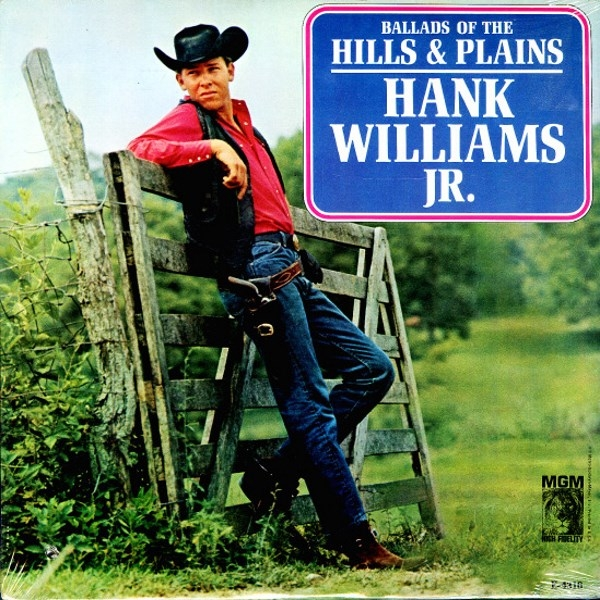 Hank Williams, Jr. Ballds of the Hills and Plains cover art
