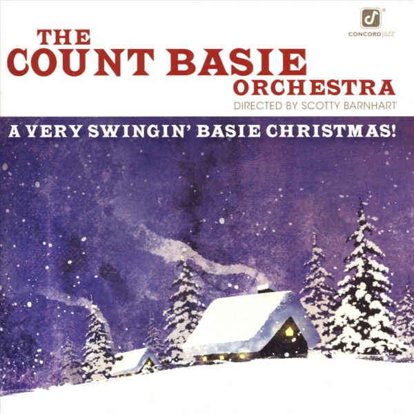 The Count Basie Orchestra A Very Swingin' Basie Christmas! cover art