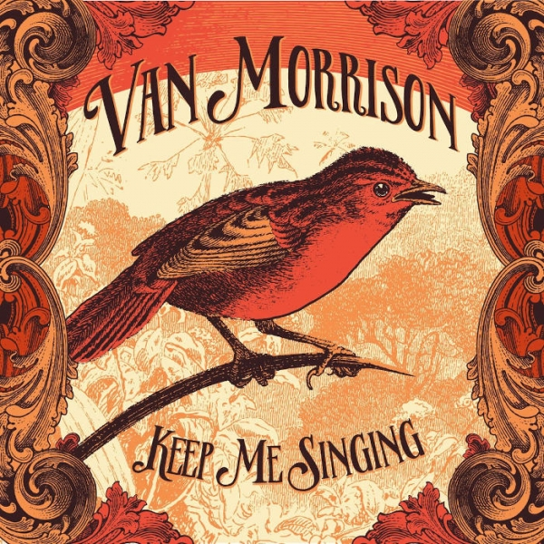Van Morrison Keep Me Singing cover art