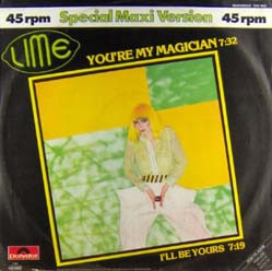 Lime You're My Magician Cover Art