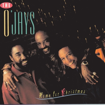The O'Jays Home for Christmas Cover Art