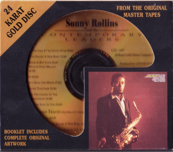 Sonny Rollins Sonny Rollins and the Contemporary Leaders Cover Art