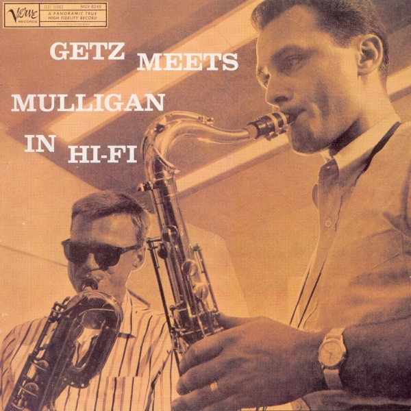 Gerry Mulligan Getz Meets Mulligan in Hi‐Fi cover art