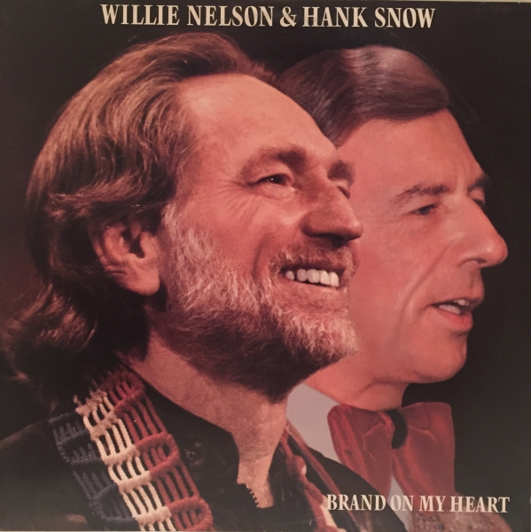 Hank Snow Brand on My Heart cover art
