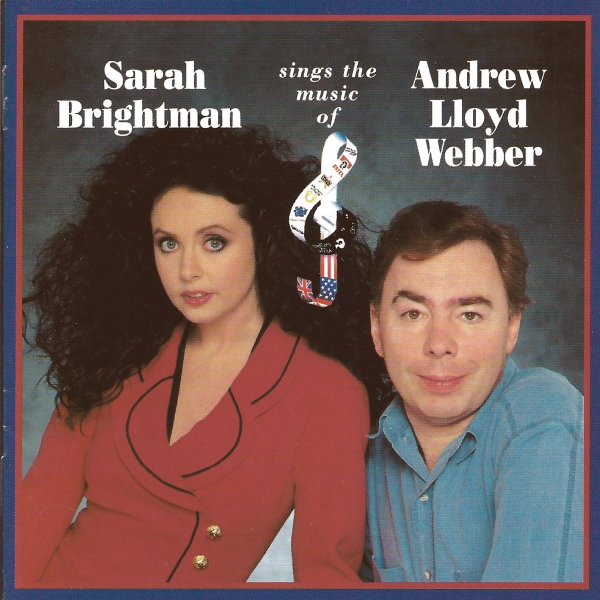 Sarah Brightman Sarah Brightman Sings the Music of Andrew Lloyd Webber cover art
