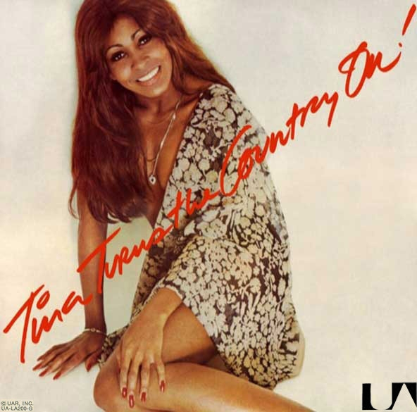 Tina Turner Tina Turns the Country On Cover Art