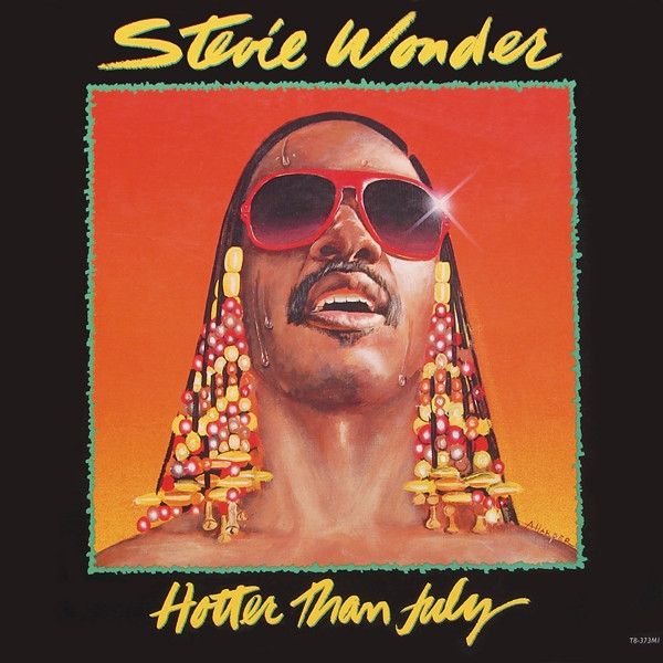 Stevie Wonder Hotter Than July Cover Art