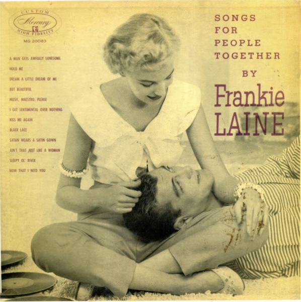 Frankie Laine Frankie Laine Sings for Us: Songs for People Together cover art