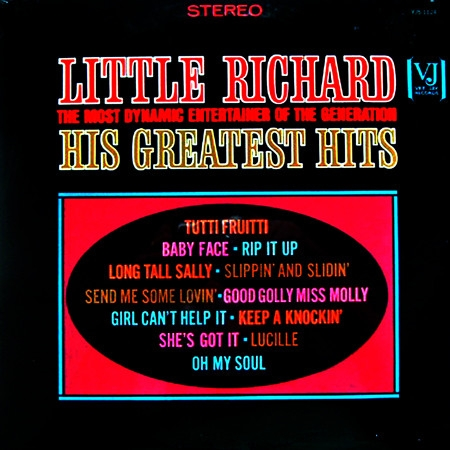 Little Richard Little Richard, the Most Dynamic Entertainer of the Generation: His Greatest Hits cover art