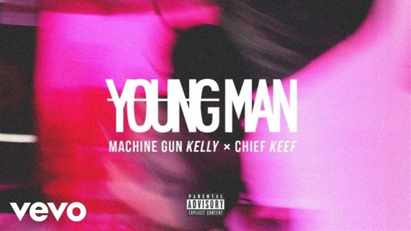 Machine Gun Kelly feat. Chief Keef Young Man Cover Art