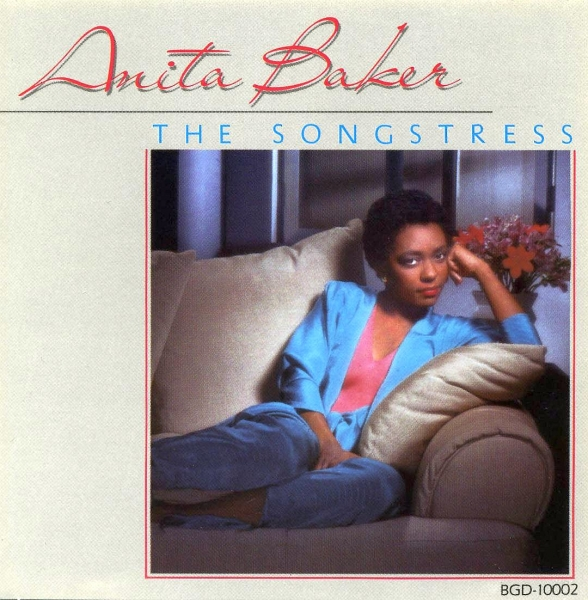 Anita Baker The Songstress cover art