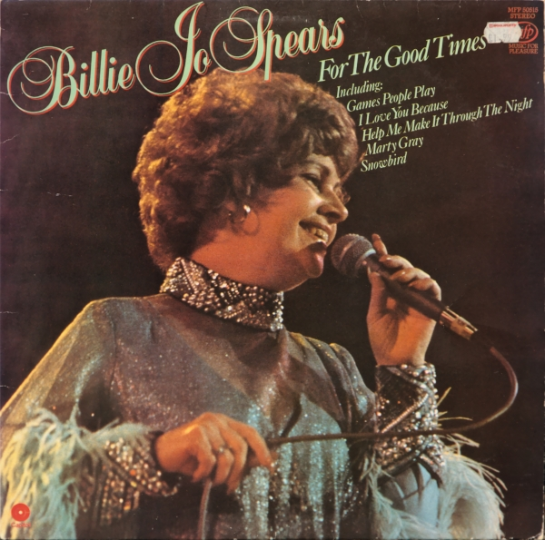 Billie Jo Spears For the Good Times cover art