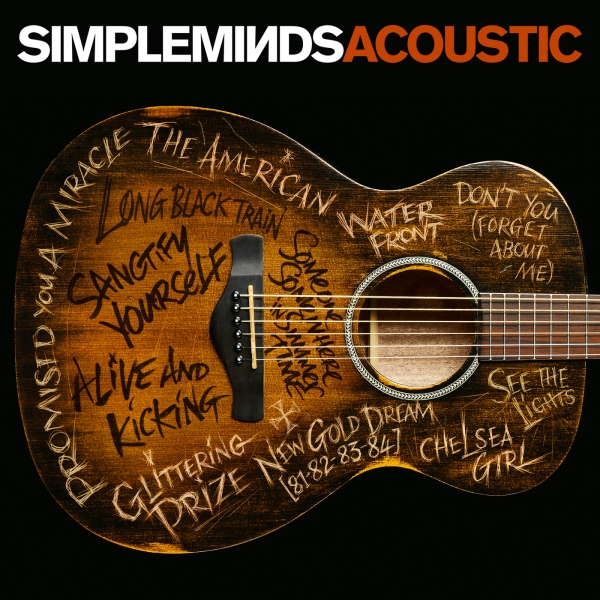 Simple Minds Acoustic cover art
