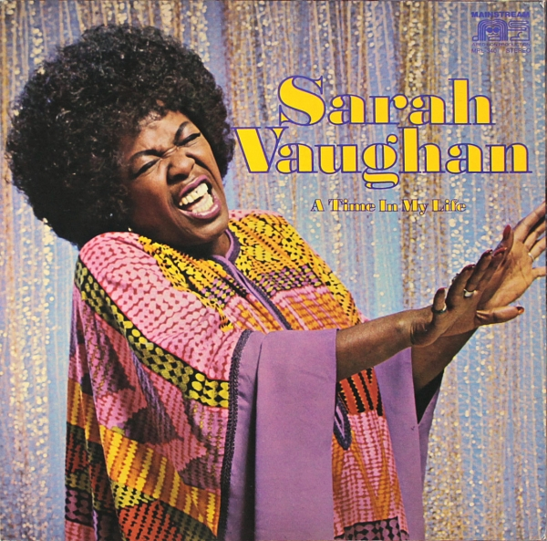 Sarah Vaughan A Time in My Life cover art