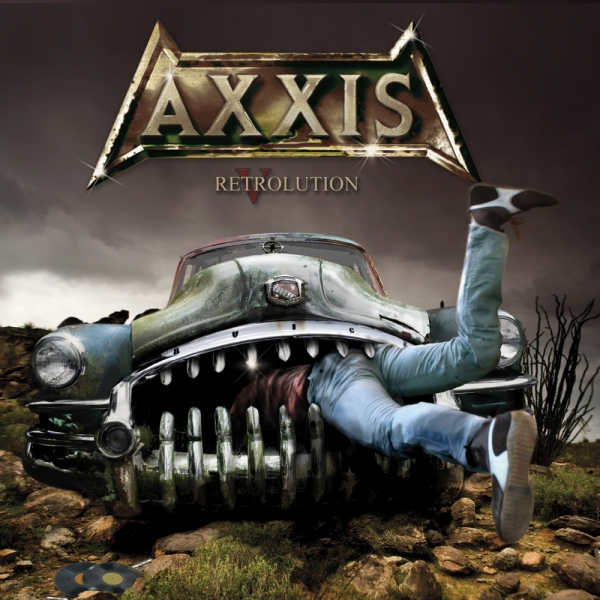 Axxis Retrolution Cover Art