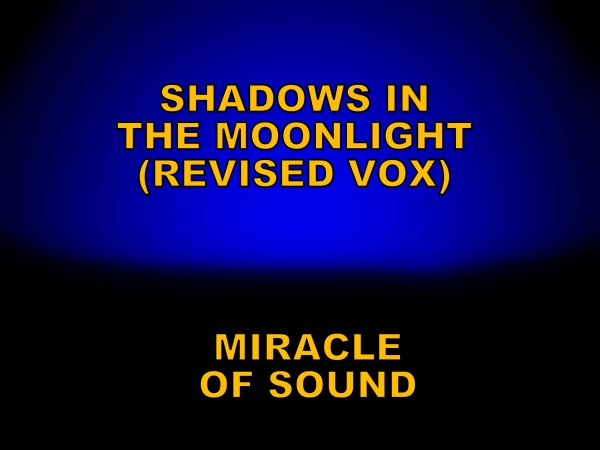 Miracle of Sound Shadows in the Moonlight (revised vox version) Cover Art
