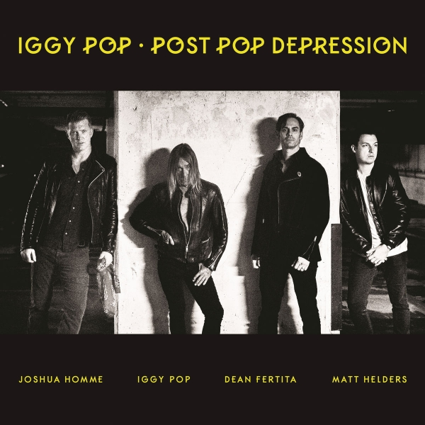 Iggy Pop Post Pop Depression cover art