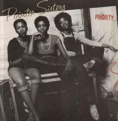 The Pointer Sisters Priority Cover Art