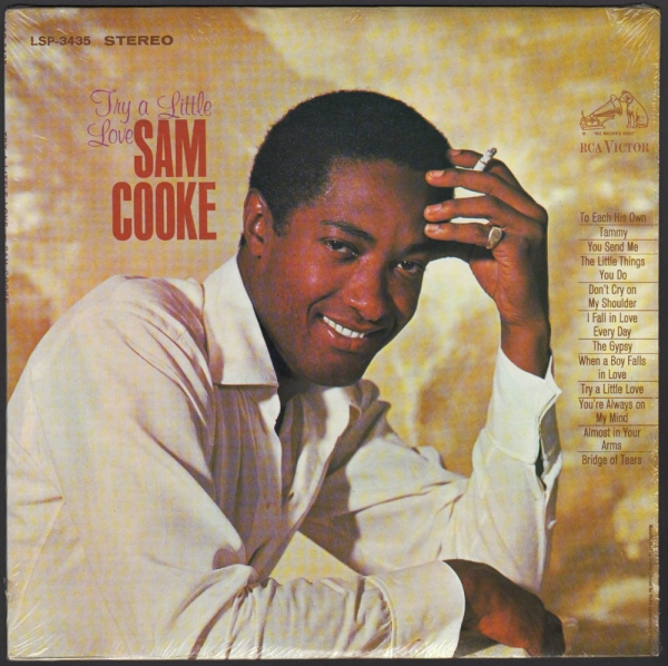 Sam Cooke Try a Little Love Cover Art