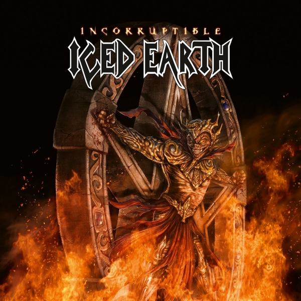 Iced Earth Incorruptible cover art