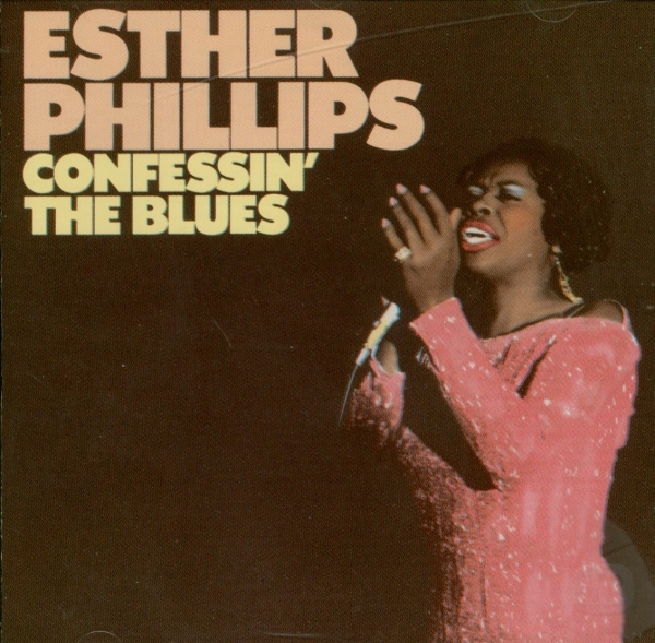 Esther Phillips Confessin' the Blues cover art