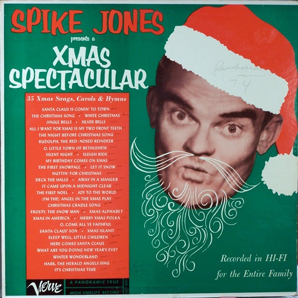 Spike Jones Let's Sing a Song of Christmas cover art