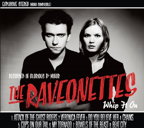 The Raveonettes Whip It On Cover Art