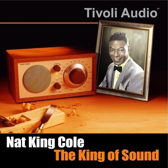 Nat King Cole The King of Sound cover art