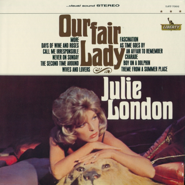 Julie London Our Fair Lady cover art