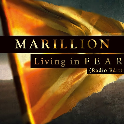 Marillion Living in F E A R Cover Art