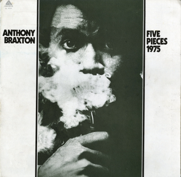 Anthony Braxton Five Pieces (1975) Cover Art